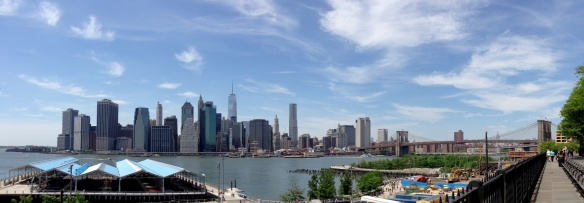 Lower Manhattan from the Brooklyn Promenade