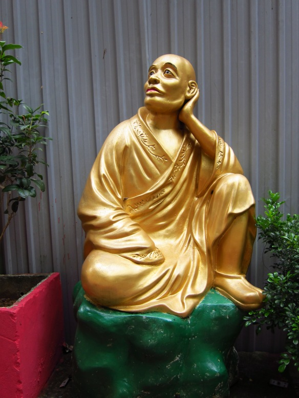 One of the over ten thousand individual Buddhas, each with their own personality